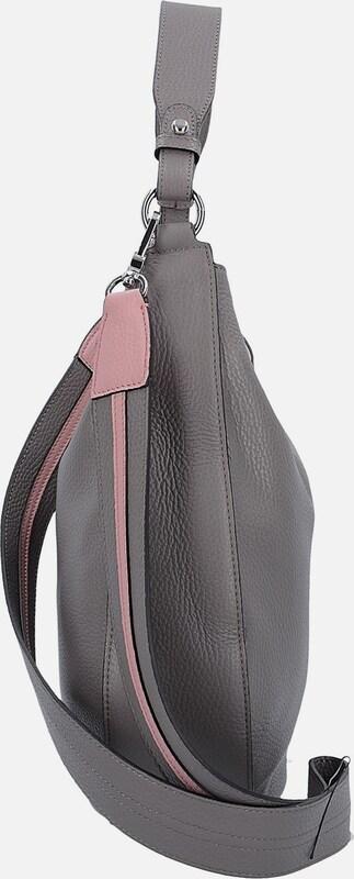 ABRO 'Calf Adria' Schultertasche Leder 29 cm