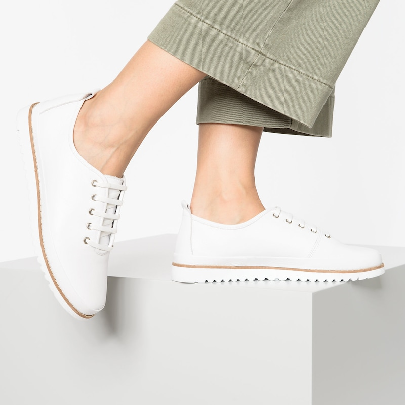 Paul Vesterbro Leder Sneakers in weiß | ABOUT YOU