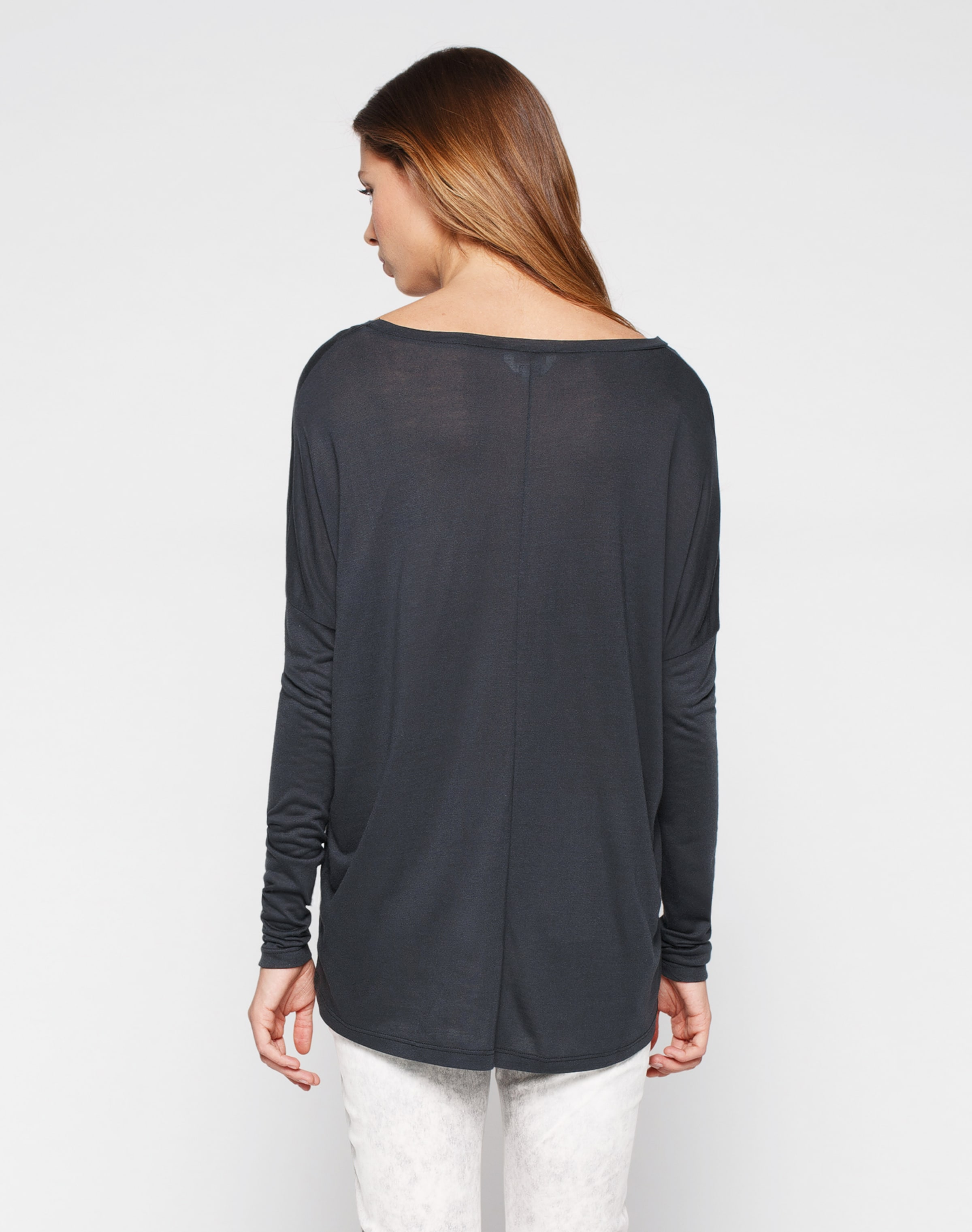 Gris Oversize Foncé T shirt Mbym En cRL3j54Aq