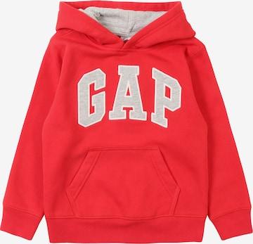 GAP Sweatshirt 'TB PTF FH LOGO PO' in Rot