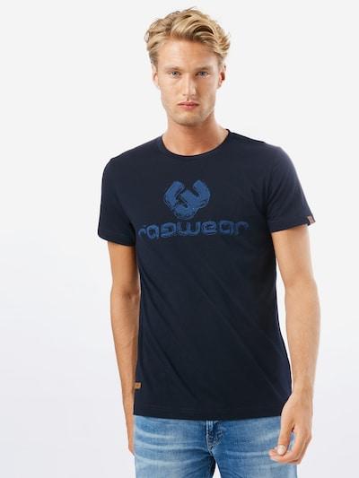 Ragwear Shirt 'CHARLES' in blau / navy: Frontalansicht