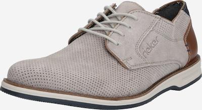 barna / világosszürke RIEKER Fűzős cipő, Termék nézet