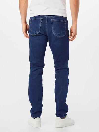 BRAX Jeans 'CHUCK' in de kleur Blauw denim: Achteraanzicht