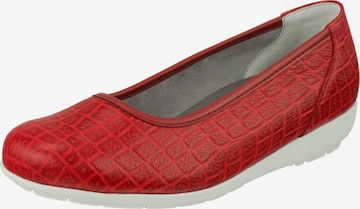 Natural Feet Ballet Flats 'Catharina' in Red