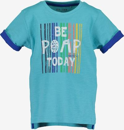 BLUE SEVEN T-Shirt in blau / hellblau, Produktansicht