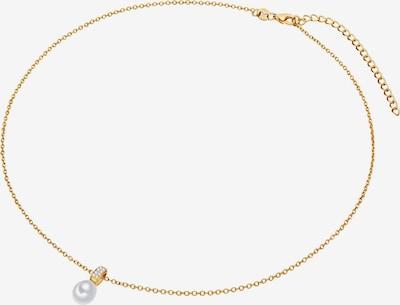 Valero Pearls Kette in gold / transparent / perlweiß, Produktansicht
