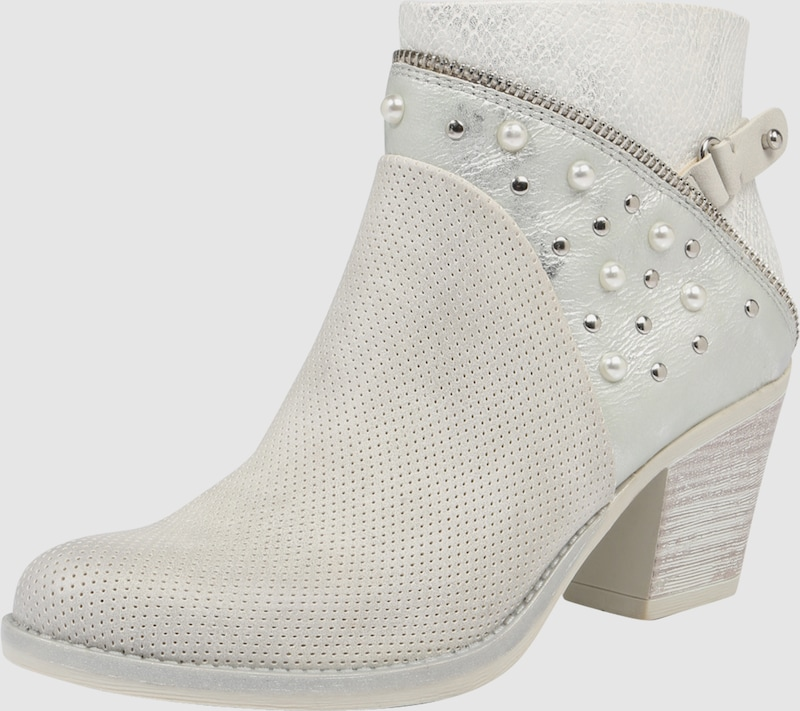 MARCO TOZZI | Ankleboot mit Perlendetails