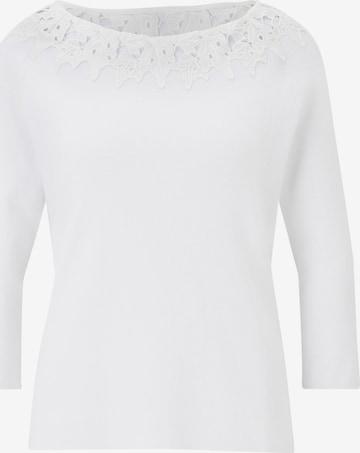 heine Pullover in Weiß