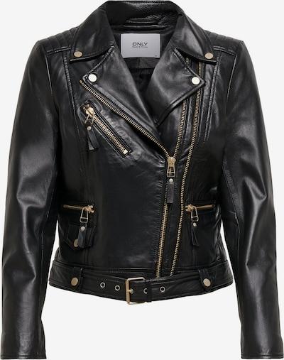 ONLY Lederjacke in schwarz, Produktansicht