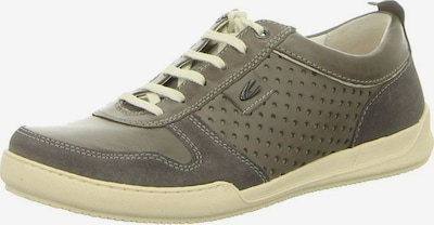 CAMEL ACTIVE Sneaker in taupe / graumeliert: Frontalansicht