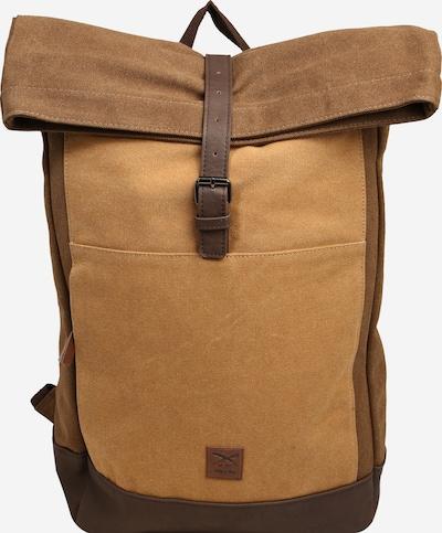 Iriedaily Rucksack in braun / hellbraun / dunkelbraun, Produktansicht