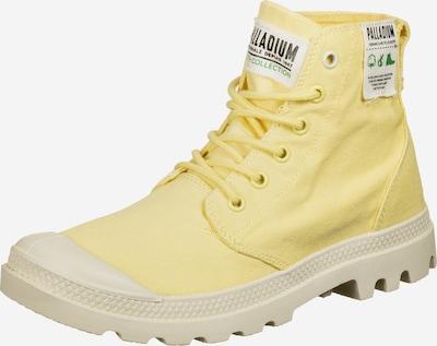 Palladium Schuhe ' Pampa Hi Organic ' in hellgelb / naturweiß, Produktansicht
