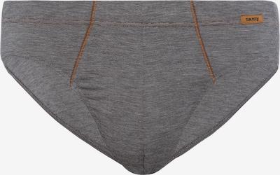 Skiny Slip in grau, Produktansicht