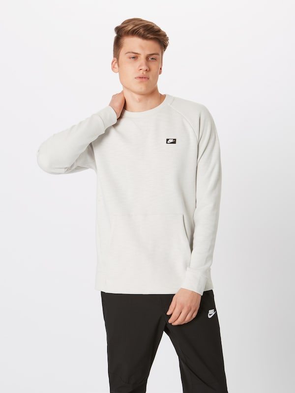 Nike 'm Crw' Naturel En Sportswear Nsw Optic Sweat shirt Blanc zqpSUMVG