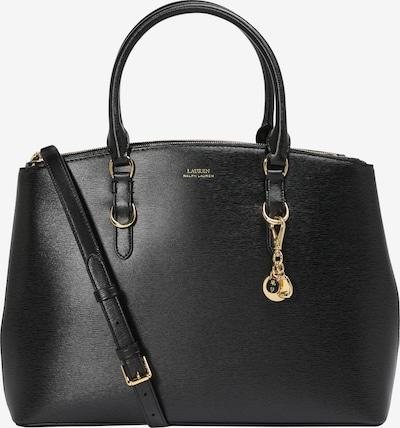 Lauren Ralph Lauren Handtasche 'DBL ZIP STCH-SATCHEL-LARGE' in schwarz, Produktansicht