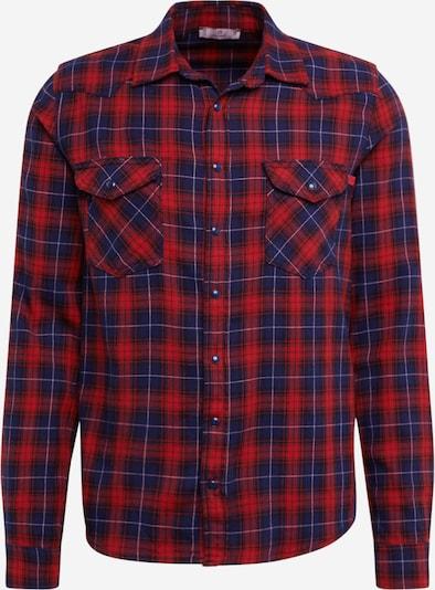 LTB Hemd 'ROHAN' in dunkelblau / rot, Produktansicht