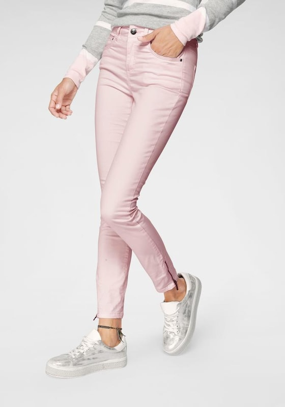 Tom Tailor Polo Team Jeans in pastellpink, Modelansicht
