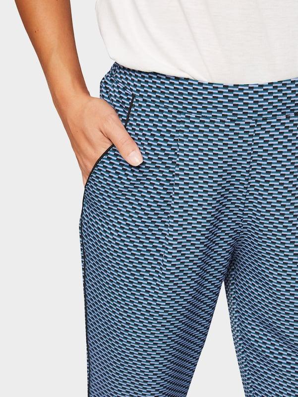Tom Schwarz Tailor Hose Blau Lila 67Icr6qwO