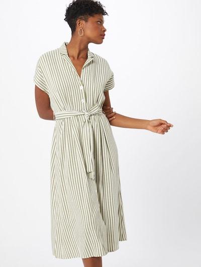 Trendyol Košeľové šaty - kaki / biela, Model/-ka