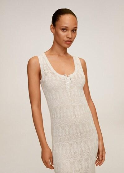 MANGO Kleid 'Gordon' in beige, Modelansicht