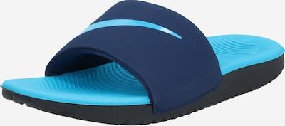 Nike Sportswear Pantolette 'NIKE KAWA SLIDE (GS/PS)' in nachtblau / hellblau, Produktansicht