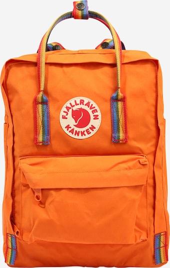 Fjällräven Sac à dos de sport 'Känken Rainbow' en bleu / jaune d'or / orange, Vue avec produit