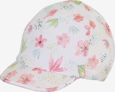 STERNTALER Schirmmütze in hellblau / schilf / mischfarben / rosé / weiß, Produktansicht