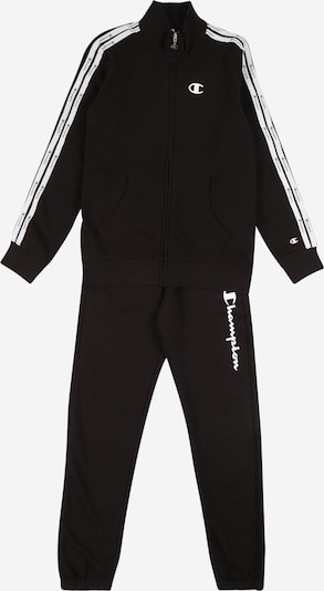 Costum de trening 'FULL ZIP SUIT' Champion Authentic Athletic Apparel pe negru, Vizualizare produs