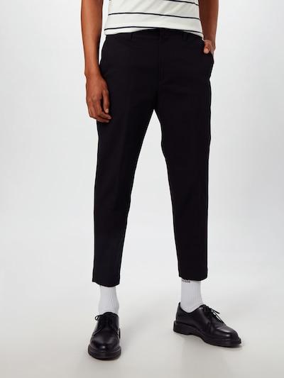 DIESEL Hose in schwarz, Modelansicht