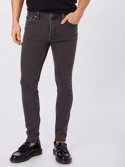 Jeans 'Mr. Red' Denim Project pe denim gri, Vizualizare model