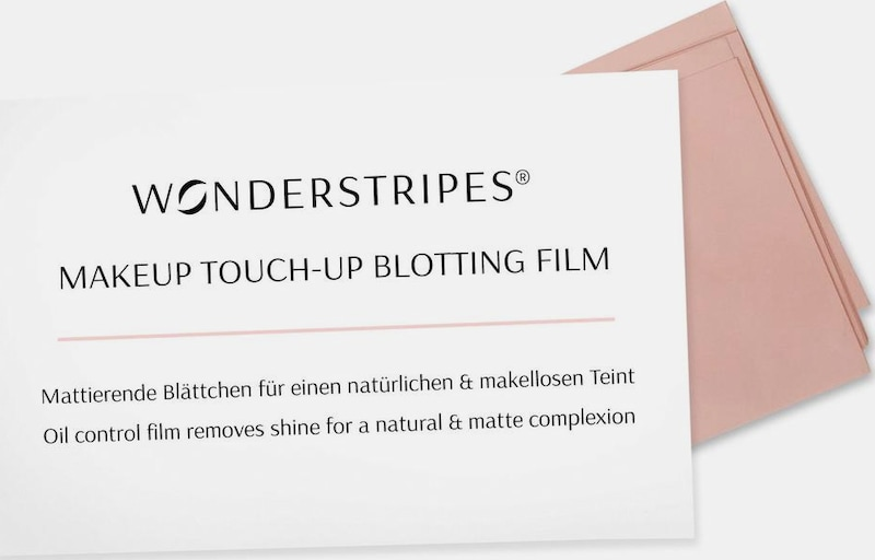 Flawless Complexion For A Natural & Wonder Tripes Makeup Touch-up Blotting Movie, Matting Leaflet