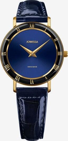 JOWISSA Quarzuhr 'Roma' in blau / gold, Produktansicht