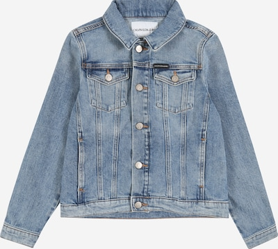 Calvin Klein Prehodna jakna | moder denim barva, Prikaz izdelka
