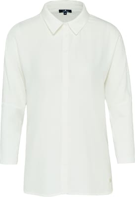 TOM TAILOR Bluse 'jersey mix'