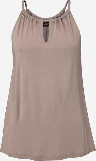 LASCANA Strandtop in taupe, Produktansicht