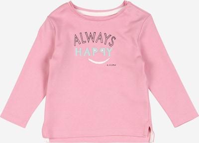 s.Oliver Junior T-Shirt in hellblau / rosa / schwarz / weiß, Produktansicht