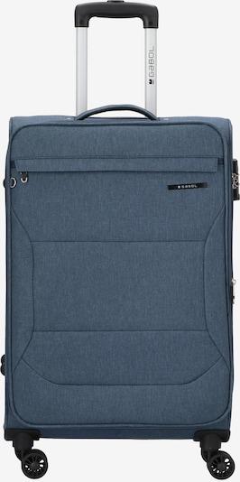 Gabol Trolley 'Board' in rauchblau / himmelblau, Produktansicht