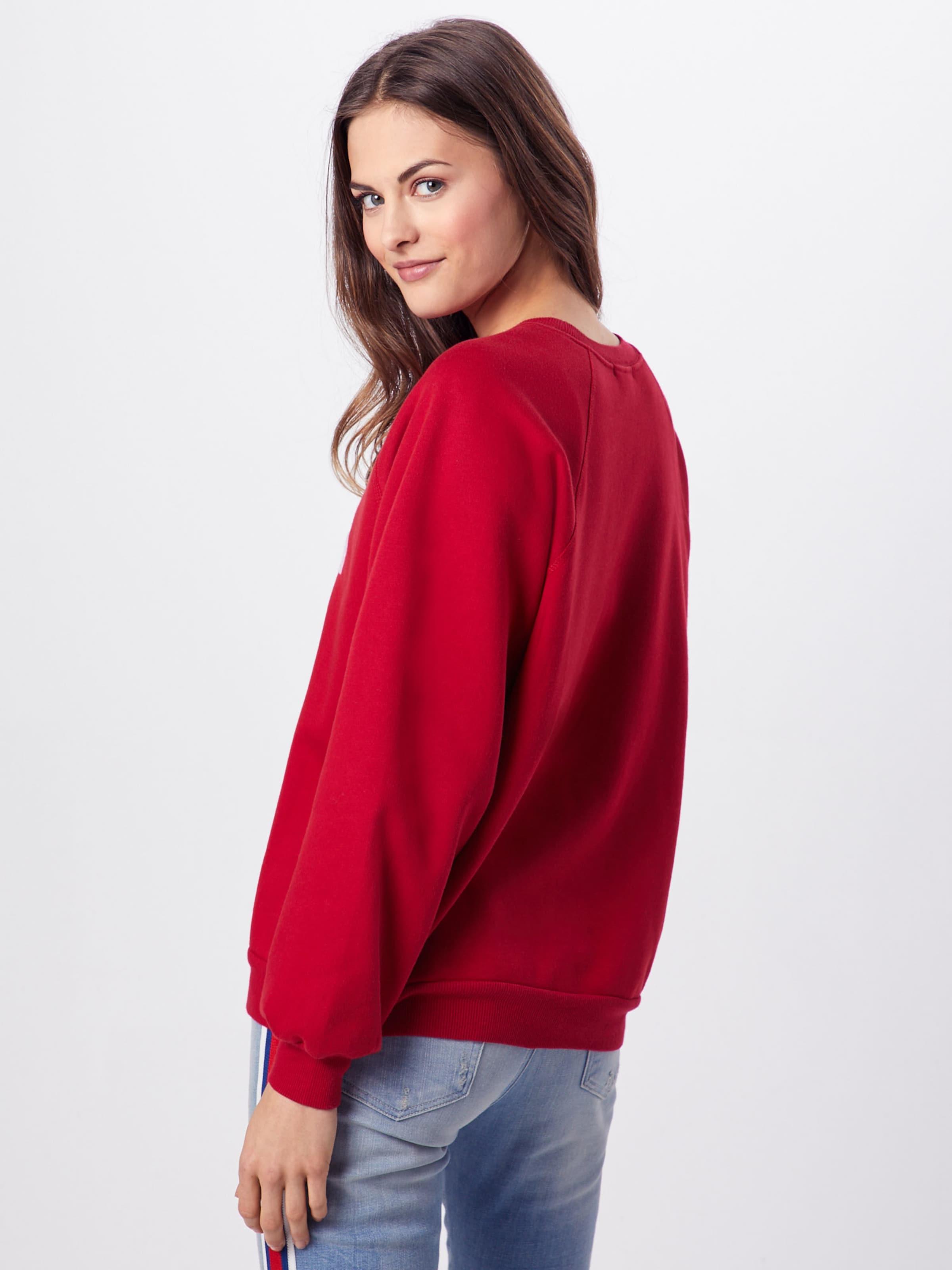 Sweatshirt' 'oversized Ragdoll shirt Rouge La Sweat En j3qARL54