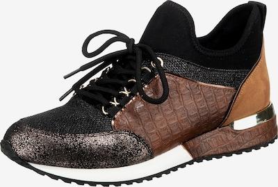 LA STRADA Sneaker in karamell / bronze / gold / schwarz / silber, Produktansicht