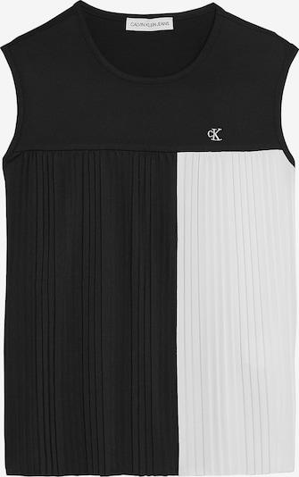 Calvin Klein Jeans Top in schwarz / weiß, Produktansicht