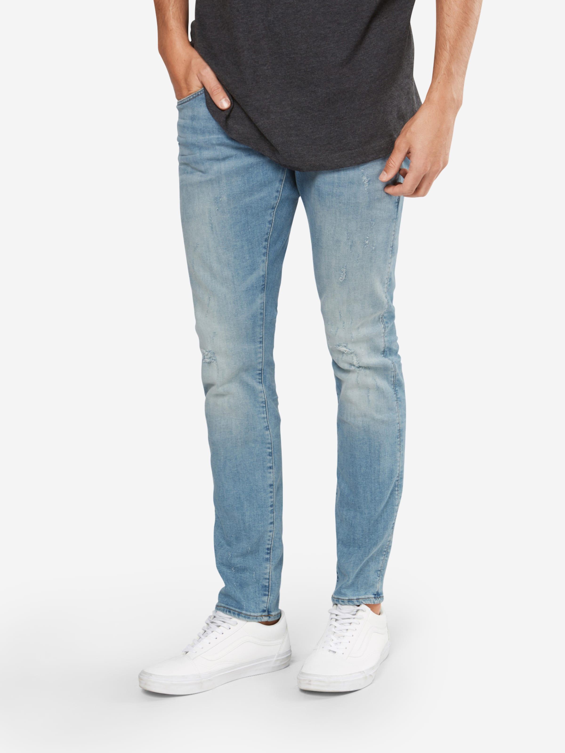 '3301 Raw Jeans star G Denim Blue Deconstructed' In jzGpLqSMVU