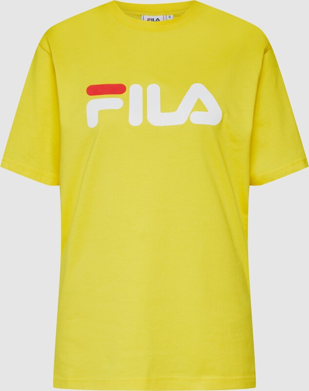 b2d96051dca99 FILA Tričko 'PURE Short Sleeve Shirt' vo farbe žlté | ABOUT YOU
