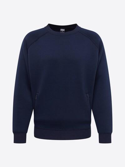 Urban Classics Sweatshirt in navy: Frontalansicht