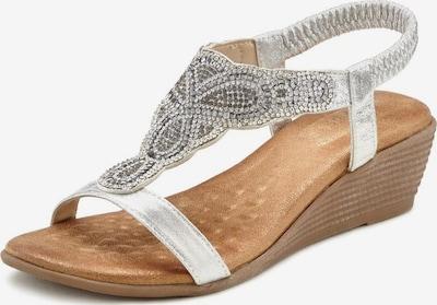LASCANA Sandale u srebro, Pregled proizvoda