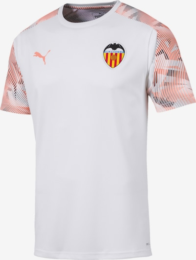 PUMA Trainingstrikot 'Valencia CF' in marine / apricot / rot / weiß, Produktansicht