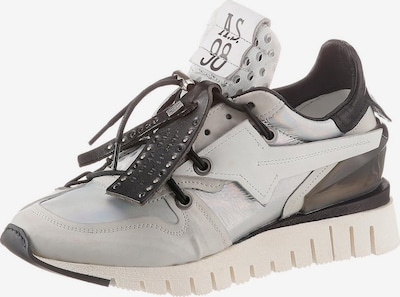 A.S.98 Wedgesneaker in hellgrau / schwarz, Produktansicht