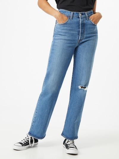 LEVI'S Jean en bleu, Vue avec modèle