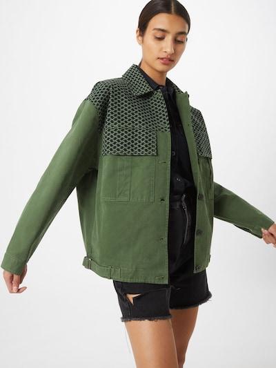 zöld Cecilie Copenhagen Átmeneti dzseki 'Megan', Modell nézet