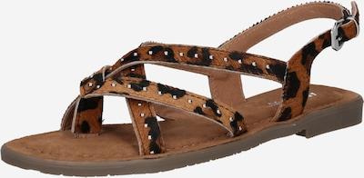 Sandale 'Jolina' ABOUT YOU pe maro / negru, Vizualizare produs