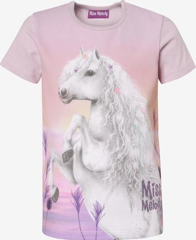 Miss Melody T-Shirt in mischfarben / hellpink, Produktansicht